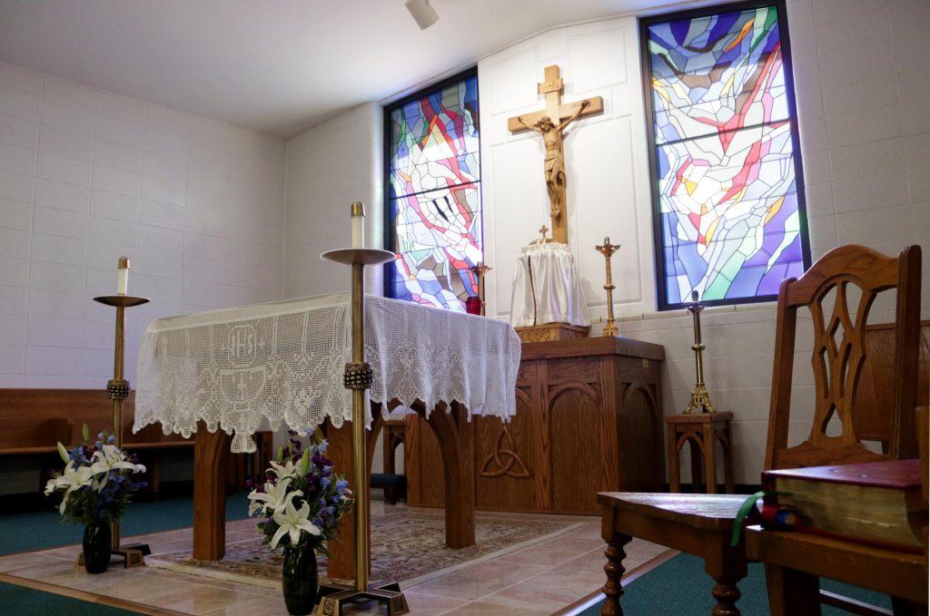 Altar at Holy Trinity Catholic Church